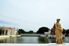 Bangpa-Em Royal Palace Imagens de Stock Royalty Free