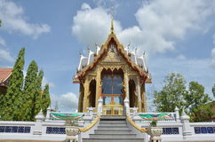 Bangpai tempel Nontaburi Thailand Arkivfoton