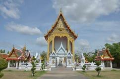 Bangpai-Tempel Nontaburi Thailand lizenzfreies stockbild