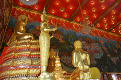 Bangpai Temple Nontaburi Thailand. This article on Thai temple art and architecture discusses Buddhist temples in Thailand. A typical Thai Wat, which is loosely Stock Photo