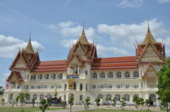 Bangpaitempel Nontaburi Thailand Stock Foto
