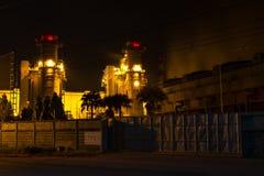 Bangpakong  electric power Royalty Free Stock Photo