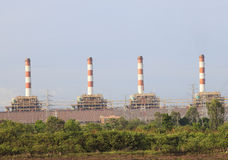 Bangpakong P.E.A.of Thailand Thermal Power Plant Royalty Free Stock Photography