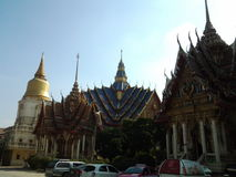 Bangphra temple Royalty Free Stock Image