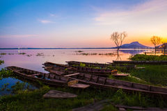 Bangpra lake, chonburi Stock Images