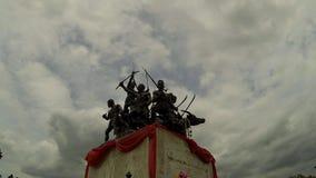 Bangrachan monument stock video footage