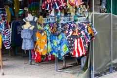 BANGSAEN,春武里市泰国- 2015年11月07日:服装店 免版税库存图片