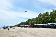 Bangsaen beach, Chonburi, Thailand Royalty Free Stock Image