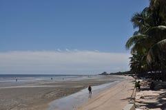 Bangsaen strand Arkivbild