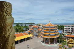 Bangsaen-Strand Stockbilder