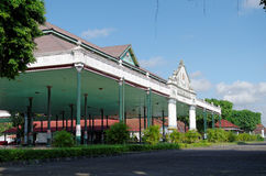 Bangsal Pagelaran, передняя зала дворца султаната Yogyakarta Стоковое Изображение