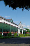 Bangsal Pagelaran, передняя зала дворца султаната Yogyakarta Стоковое Изображение RF