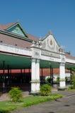 Bangsal Pagelaran, de voorzaal van Yogyakarta-het Paleis van het Sultanaat Stock Foto