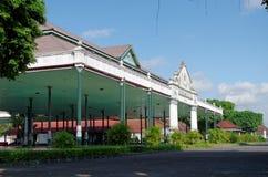 Bangsal Pagelaran, el pasillo delantero del palacio del sultanato de Yogyakarta Imagen de archivo