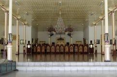 Bangsal sewatama, the main hall of pakualaman palace, yogyakarta. Pura Pakualaman is a Kadipaten (regency) Palace as well as the dwelling of all generations and Royalty Free Stock Photo