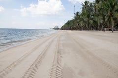 Bangsan海滩 免版税库存照片