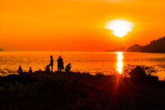 Bangsila, Langu, satun, Tailandia Immagine Stock