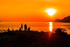 Bangsila, Langu, satun, Thailand Stockbild