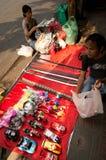 BANGUECOQUE, - 10 DE FEVEREIRO: Ano novo chinês 2013 - celebrações dentro Foto de Stock Royalty Free