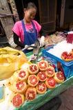 BANGUECOQUE, - 10 DE FEVEREIRO: Ano novo chinês 2013 - celebrações dentro Imagens de Stock