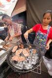 BANGUECOQUE, - 10 DE FEVEREIRO: Ano novo chinês 2013 - celebrações dentro Fotografia de Stock Royalty Free