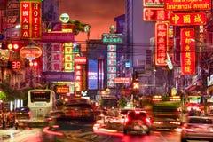 Banguecoque Chinatown Foto de Stock Royalty Free