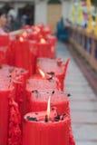 BANGUECOQUE, Chinatown/THAILAND- 10 de fevereiro: Ano novo chinês chinês das tradições do ano novo Foto de Stock
