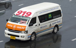 919 Banguecoque - Chonburi camionete táxi Imagem de Stock