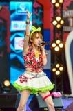 BANGUECOQUE - 30 DE AGOSTO: Tanaka Reina (líder de Vocals) de LoVendor Fotos de Stock