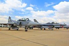 BANGUECOQUE - 2 DE JULHO: JAS 39 Gripen Imagem de Stock Royalty Free