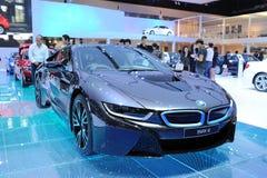 BANGUECOQUE - 25 DE MARÇO: Carro de BMW i8 Imagens de Stock