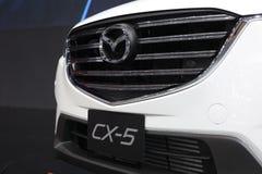 Banguecoque - 31 de março: Mazda CX-5 no carro branco na 37th exposição automóvel internacional 2016 de Banguecoque Tailândia o 2 Fotografia de Stock