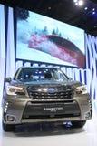 Banguecoque - 31 de março: Subaru Forestep 2 0 IP no carro preto na 37th exposição automóvel internacional 2016 de Banguecoque Ta Fotos de Stock Royalty Free