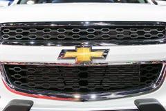 Banguecoque - 27 de março: Todo o carro branco novo do captiva de Chevrolet na 35a exposição automóvel internacional de Banguecoq Foto de Stock Royalty Free