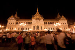 Banguecoque-Dezembro 5: O palácio grande Fotografia de Stock Royalty Free