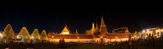 Banguecoque-Dezembro 5: O palácio grande Imagens de Stock Royalty Free