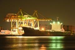 BANGUECOQUE, fevereiro 26,2015: Autoridade portuária de Tailândia foto de stock royalty free