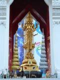 Banguecoque segue suas raizes a um cargo de troca pequeno durante o reino de Ayutthaya no século XV, que cresceu eventualmente e  fotografia de stock