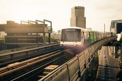 Banguecoque Skytrain Foto de Stock Royalty Free