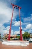 Banguecoque, Tailândia: Balanço gigante Imagens de Stock