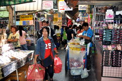 Banguecoque, Tailândia: Chinatown Imagem de Stock Royalty Free