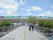 Banguecoque-Tailândia: A cidade tem a maioria passagem superior/acercamento do mundo Imagem de Stock Royalty Free