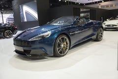BANGUECOQUE, TAILÂNDIA - 4 DE ABRIL: Mostra em abril 4,2015 a de Aston Martin Fotografia de Stock