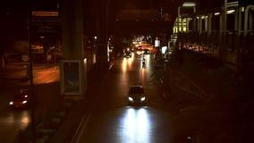 banguecoque tailândia 1º de agosto de 2014 Ideia da noite vídeos de arquivo