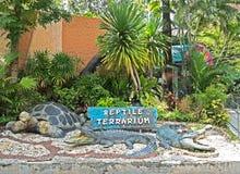 BANGUECOQUE, TAILÂNDIA - 6 DE JULHO DE 2017: Ornamento do jardim no jardim zoológico de Dusit Fotos de Stock