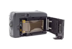 Banguecoque Tailândia - 6 de julho de 2018: Ouro de Kodak para a câmera do filme, vários rolos de filme velhos do vintage 35mm Imagens de Stock