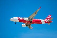 BANGUECOQUE, TAILÂNDIA - 1º DE JUNHO DE 2015: HS-BBG Airbus A320-216 de tailandês Imagens de Stock