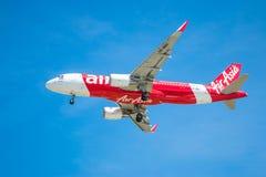 BANGUECOQUE, TAILÂNDIA - 1º DE JUNHO DE 2015: HS-BBO Airbus A320-216 de tailandês Foto de Stock Royalty Free