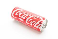 Banguecoque, Tailândia - 22 de maio de 2017: Coca-Cola é um delicado carbonatado Imagens de Stock Royalty Free