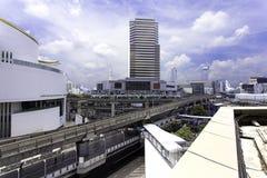 BANGUECOQUE TAILÂNDIA - 5 DE MAIO DE 2016: Opinião Banguecoque e MBK icônico da cidade Imagem de Stock Royalty Free